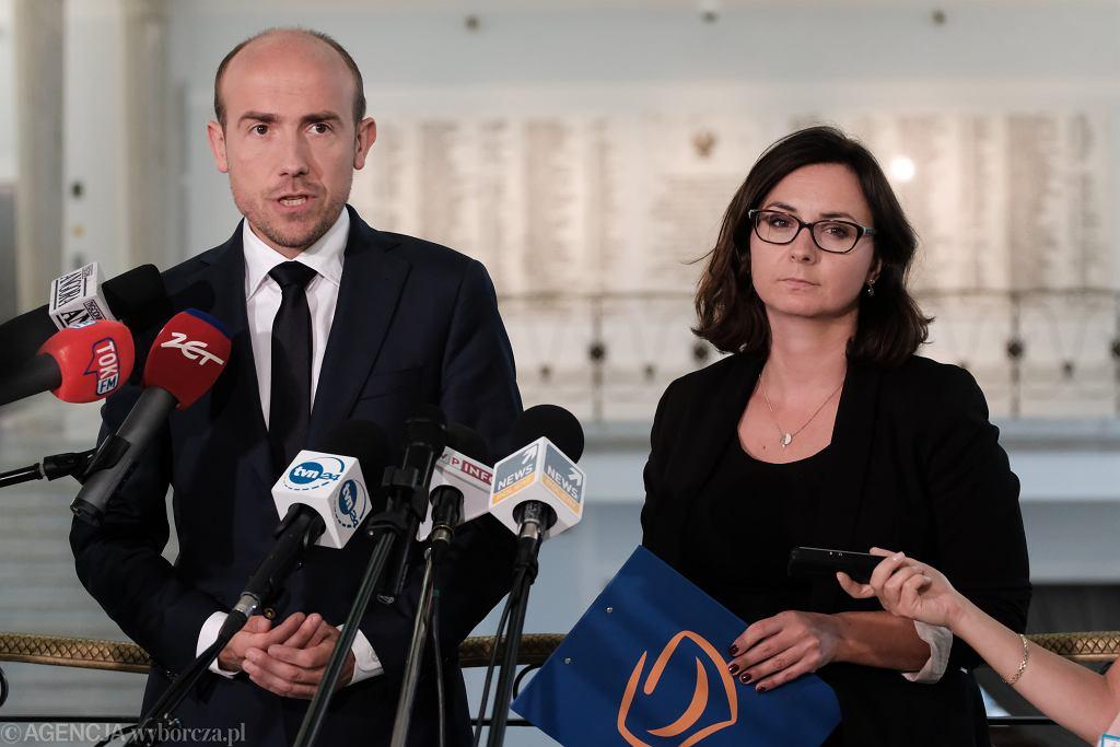 Borys Budka i Kamila Gasiuk-Pihowicz