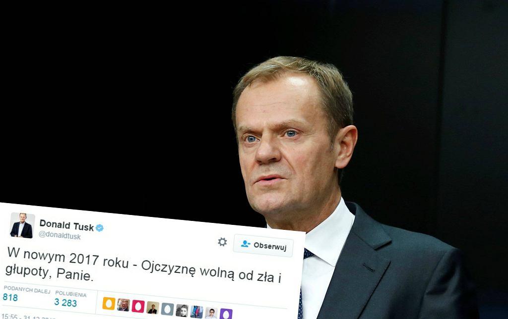 Donald Tusk i jego tweet