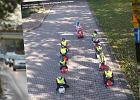 Dzieci pokazały kierowcom, jak powinni zachować się na drodze. Zrobiły korytarz życia