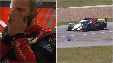 Dramat zespołu Roberta Kubicy w 24h Le Mans!