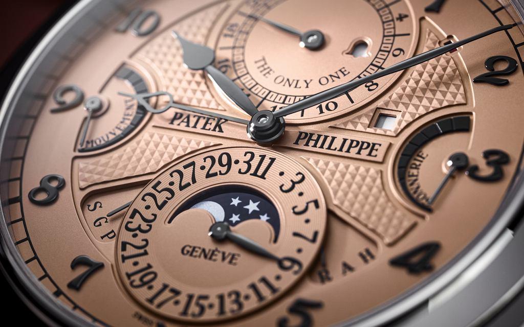 Rekordowy zegarek Patek Philippe sprzedany za 31 mln franków szwajcarskich