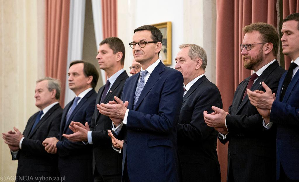 Mateusza Morawiecki desygnowany na Premiera RP