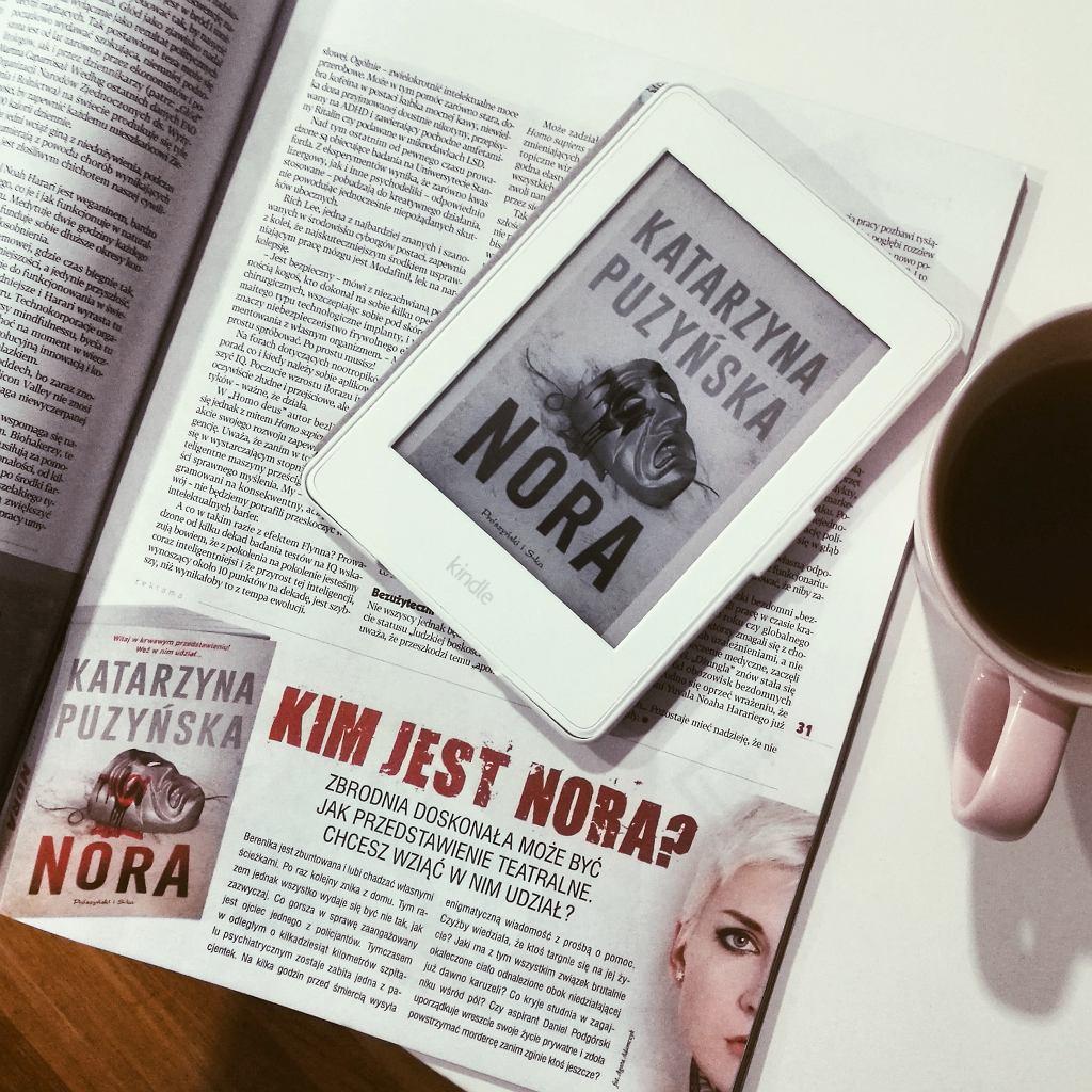 'Nora' - książka autorstwa Katarzyny Puzyńskiej