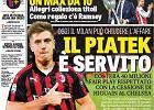 Krzysztof Piątek na okładce 'La Gazzetta dello Sport'