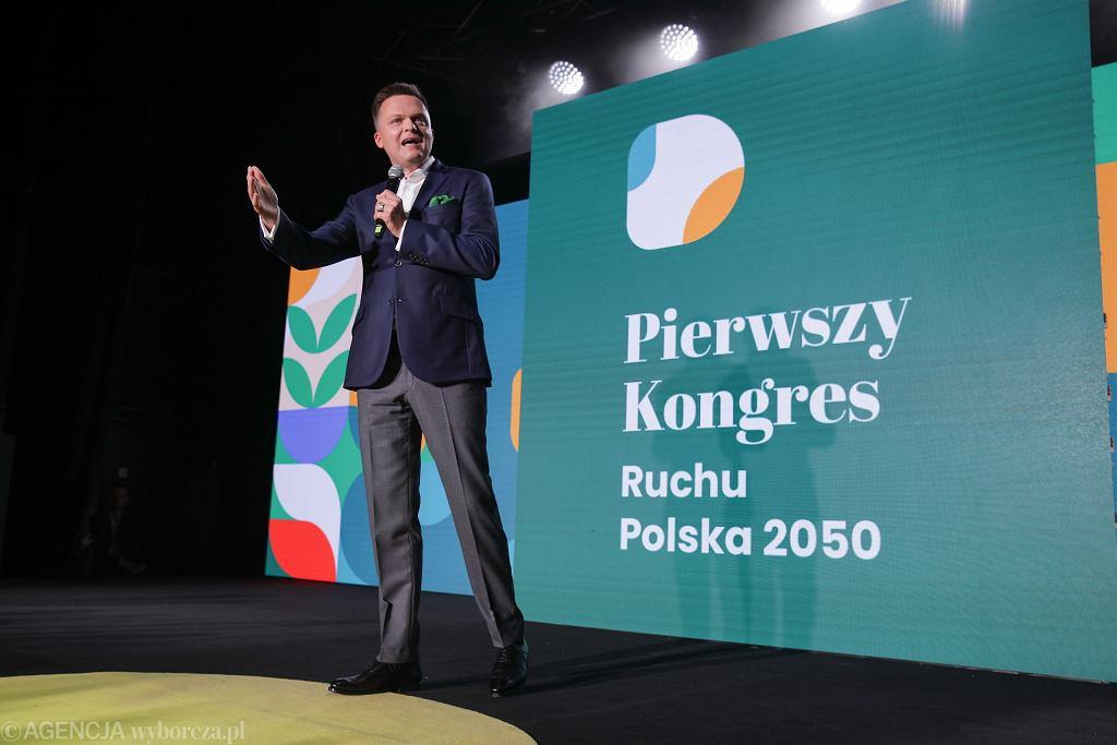 Pierwszy kongres Ruchu Polska 2050, Szymon Hołownia