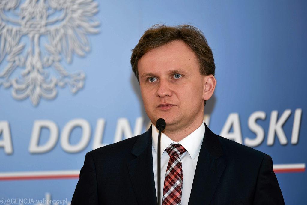 Wiceminister rodziny , pracy i polityki społecznej Bartosz Marczuk