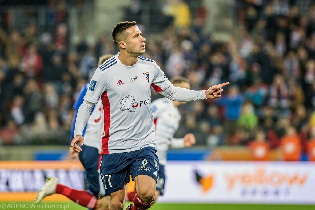 Igor Angulo w meczu Górnik - Wisła Płock 2:2