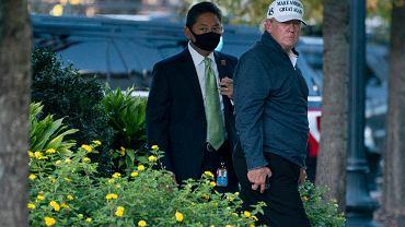 Donald Trump grał w golfa w momencie ogłoszenia wygranej Joe Bidena