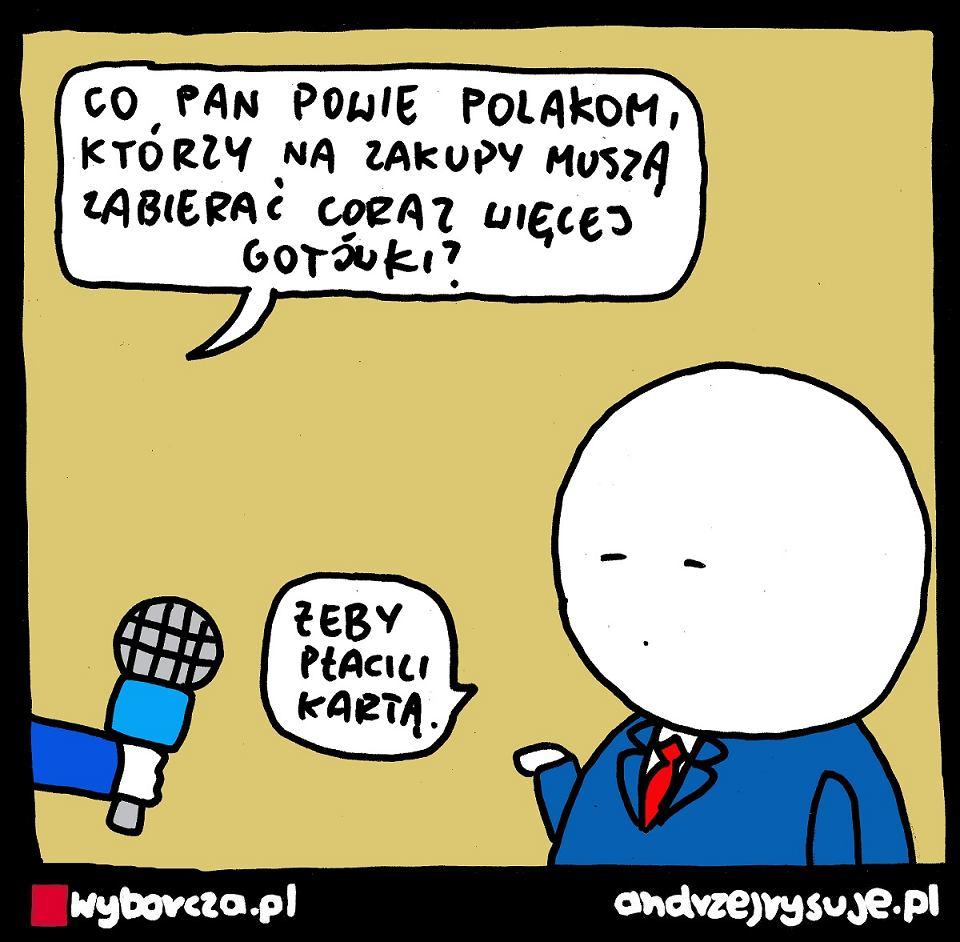 Andrzej Rysuje | GOTÓWKA - Andrzej Rysuje | 7 września 2021 r. - null