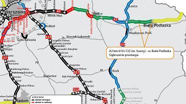 Autostrada A2, obwodnica Siedlec