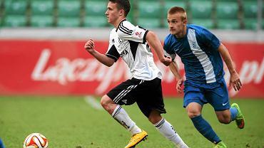 Finał Centralnej Ligi Juniorów: Legia Warszawa - Lech Poznań 3:0. Robert Janicki