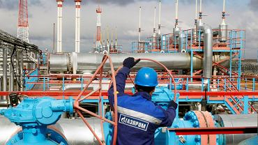 Gazociąg firmy Gazprom