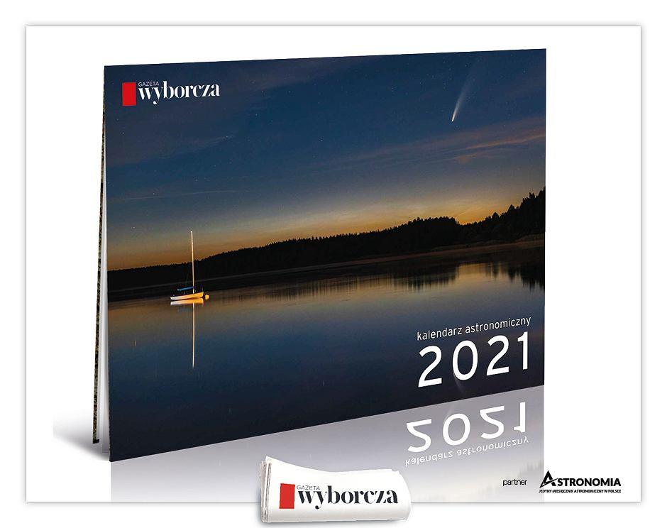 Kalendarz astronomiczny na 2021 rok w czwartek, 3 grudnia z 'Wyborczą'.