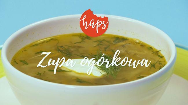 Klasyk - zupa ogórkowa