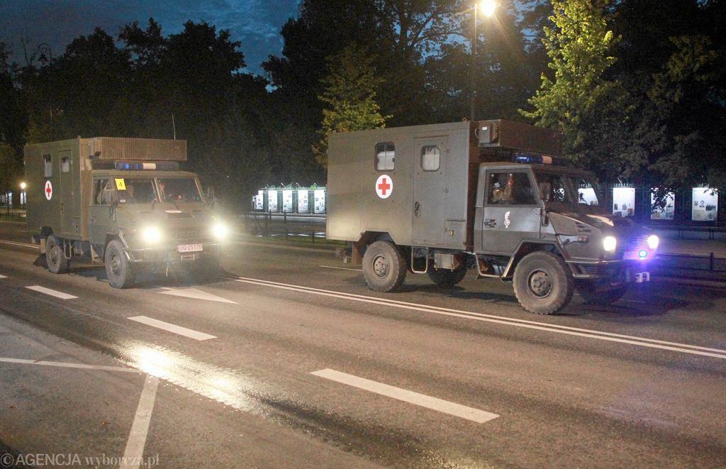 Zachodniopomorskie. Samochód osobowy wjechał w wojskową karetkę (fot. ilustracyjna)