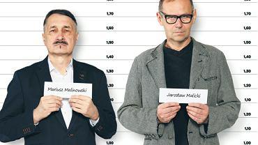 Mariusz Malinowski i Jarosław Malicki, uczestnicy grudniowego protestu pod Sejmem