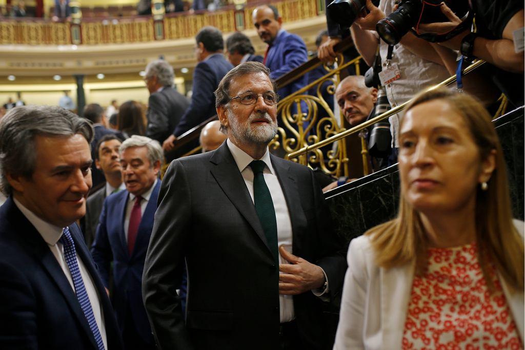 Mariano Rajoy odwołany ze stanowiska premiera Hiszpanii