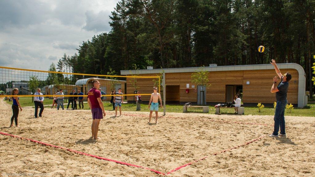 Piłka plażowa w Dojlidach. Konferencja przed Mistrzostwami Polski Plaża Open