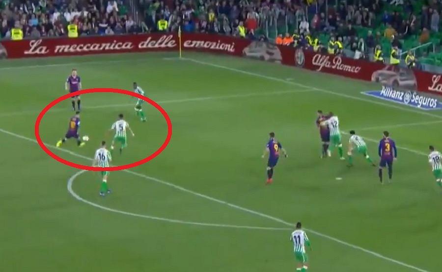 Cudowny gol Leo Messiego. Kibice rywali nagrodzili go owacją