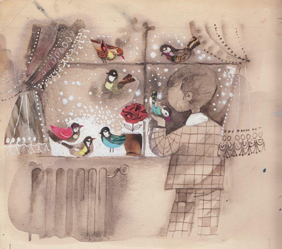 Lodorosty i bluszczary, wystawa rysunków Jerzego Ficowskiego / materiały promocyjne