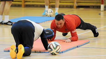 Rafał Buryta - trener odpowiedzialny za przygotowanie fizyczne w Pogoni