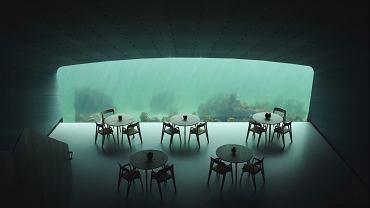 Restauracja Under w Norwegii - zdjęcia dzięki uprzejmości biura Snohetta