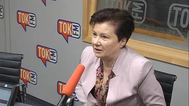 Hanna Gronkiewicz-Waltz w studiu TOK FM.