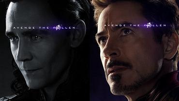 plakaty promocyjne 'Avengers: Koniec gry'