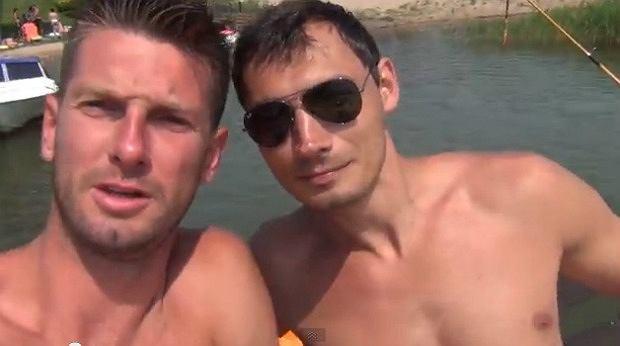 Łukasz Kadziewicz i Krzysztof Lijewski