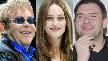 Elton John, Vanessa Paradis, Tomasz Karolak.