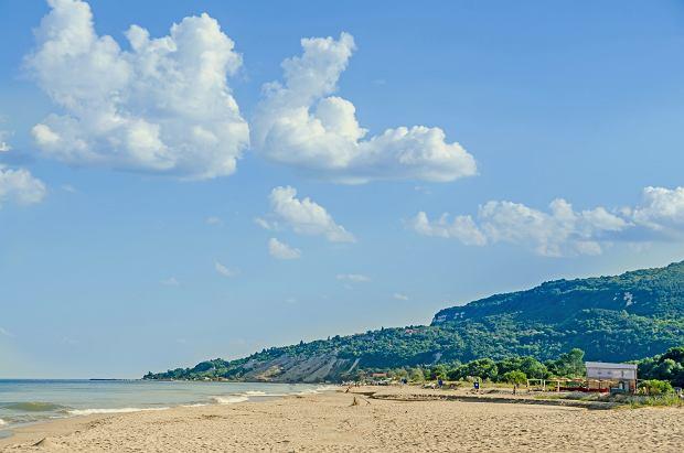 Plaża w bułgarskiej Albenie