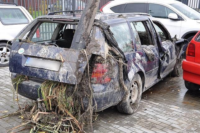 Do wypadku we wsi Chojane-Stankowięta doszło podczas policyjnego pościgu