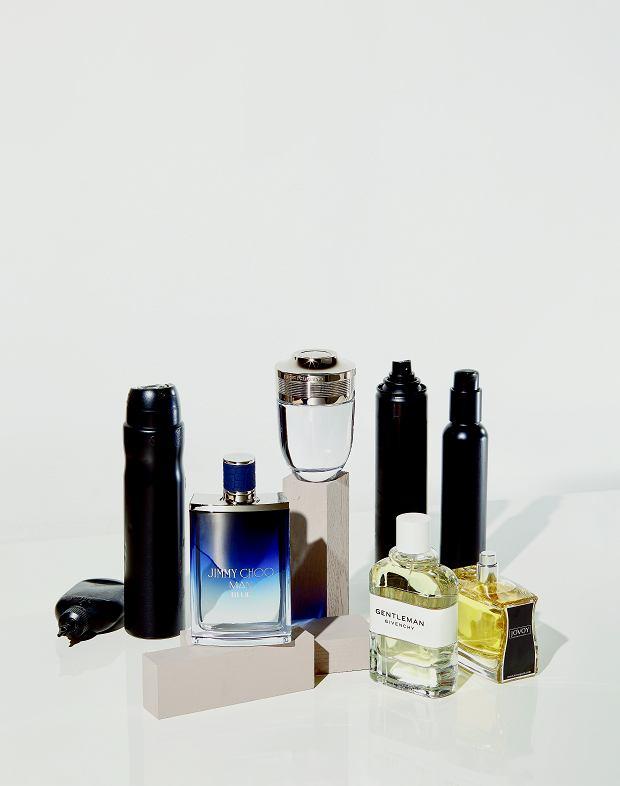 Na górze Paco Rabanne, na dole od lewej: Jimmy Choo, Givenchy i Jovoy
