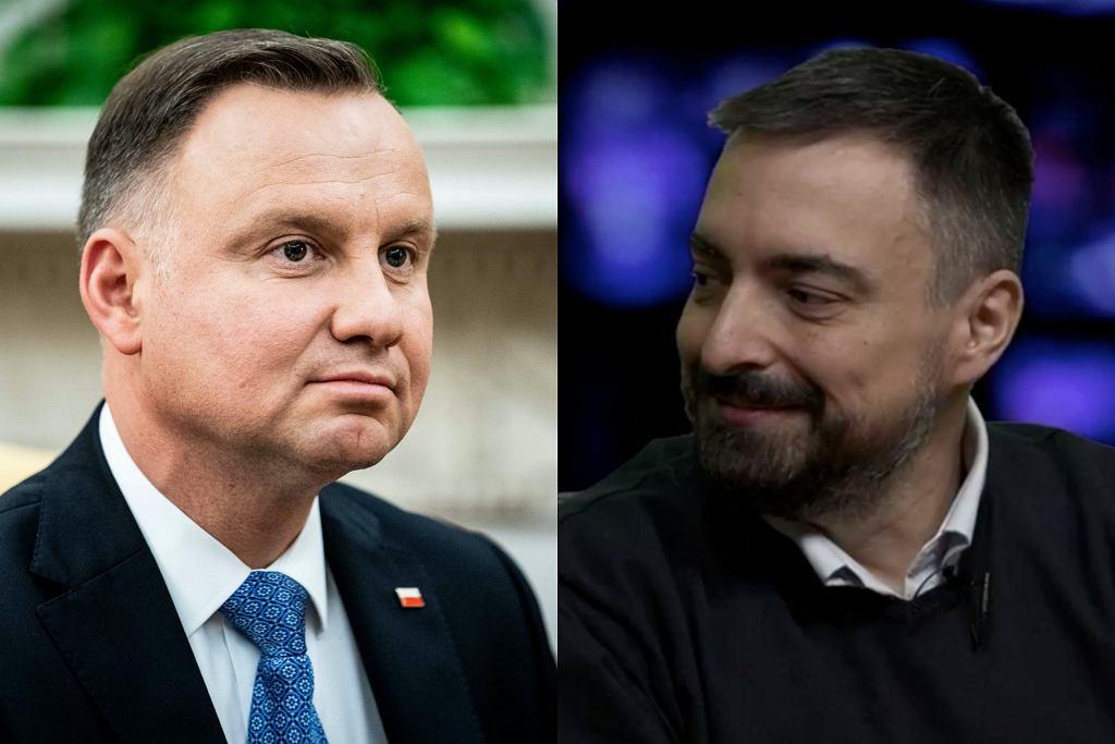 Sekielscy zakpili z Andrzeja Dudy