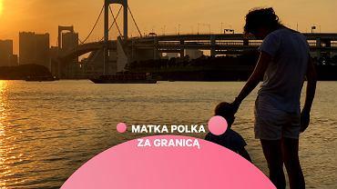 Matka Polka za granicą: Paulina Walczak-Matla z synem