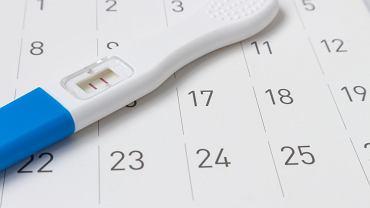 Kiedy zrobić test ciążowy. Zdjęcie ilustracyjne