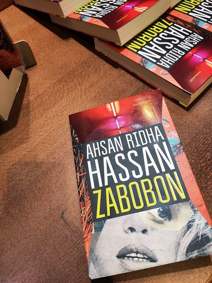 Ahsan Ridha Hassan, 'Zabobon'
