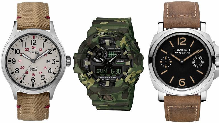 5 zegarkowych propozycji LOGO: styl militarny