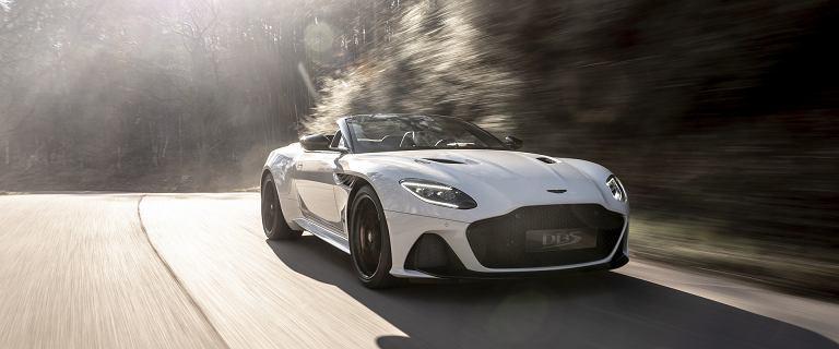 Aston Martin DBS Superleggera Volante - najszybszy kabriolet w historii Astona Martina