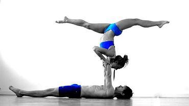 Ewa i Michal w Astanga Yoga Studio