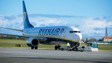 Ryanair odwołuje część lotów z Polski