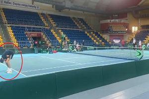 Nietypowe zwyczaje reprezentacji Polski w tenisie. Janowicz został ukarany [WIDEO]
