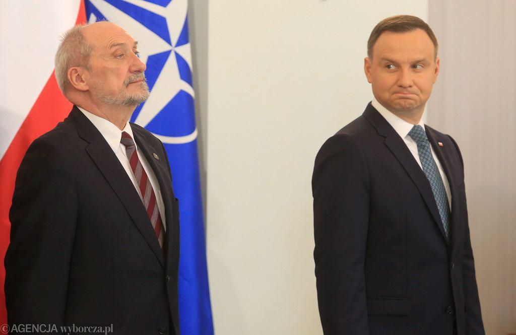 Spotkanie prezydenta Dudy z naczelnym dowódcą sił sojuszniczych w Europie, 13.04.2017 r.