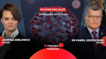 Jadwiga Emilewicz i dr Paweł Grzesiowski gośćmi Porannej rozmowy Gazeta.pl