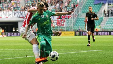 Mecz Śląsk Wrocław - Cracovia