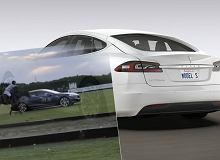 770 KM vs. 1, ale prawdziwy. Najmocniejsza Tesla Model S ściga się... z koniem. I przegrywa