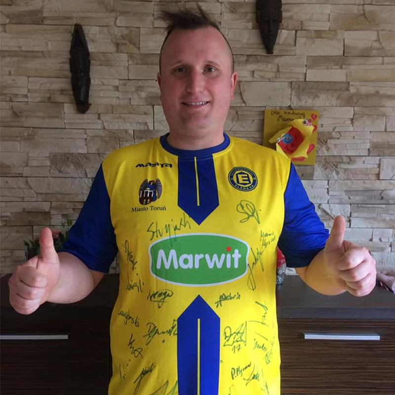 Pan Marek, 'polski Messi'