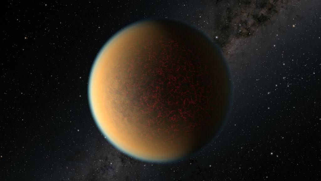 Planeta GJ 1132 b - wizja artysty