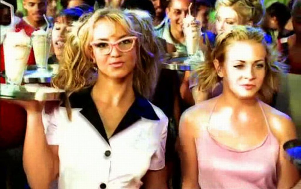 Britney Spears i Melissa Joan