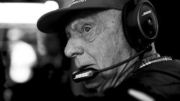 Zmarł Niki Lauda, trzykrotny mistrz świata F1. miał 70 lat.